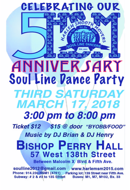SOLD OUT – HSM 5th Anniversary Dance Party – Saturday March 17, 2018