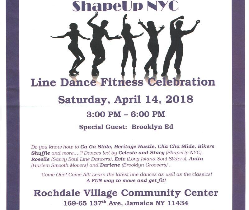 RVCC Line Dance Fitness Celebration