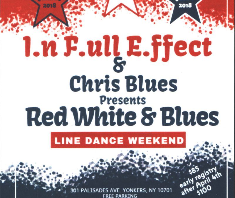Red White & Blues Line Dance Weekend