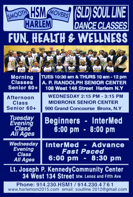 HSM Free All Day Soul Line Dancing Wellness & Education Festival