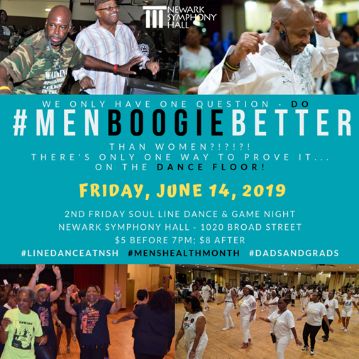 Men Boogie Better