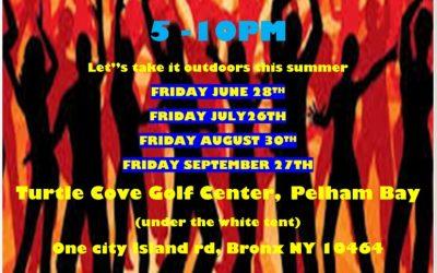 Last Friday Outdoors Line Dance Social