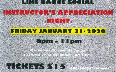 PSX Last Friday Line Dance Social